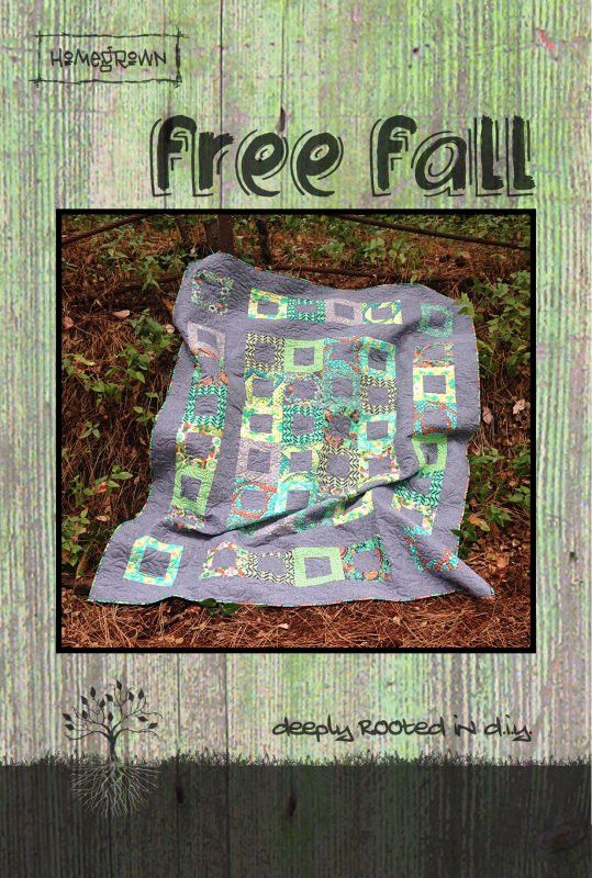 Free Fall Quilt Pattern by Villa Rosa Designs | Quilts