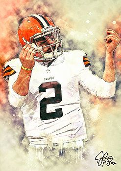 Johnny Manziel by Taylan Soyturk