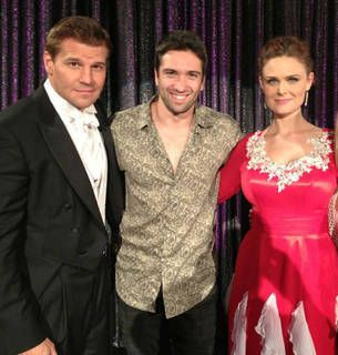 Bones Season 8: Brennan In Her Ballroom Dancing Costume — Plus Booth In A Tux! (PHOTO)