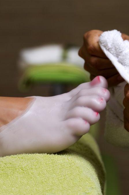 Parafina para pies. www.nuriasabadell.com