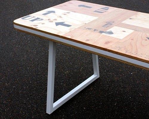 optimist tafel | Studio Hamerhaai This table has a mosaic of