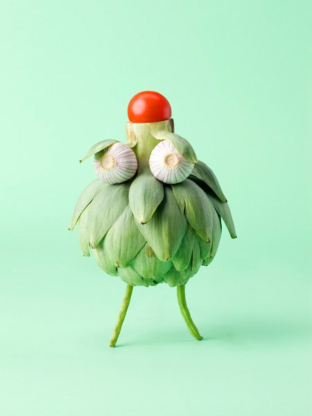 Cute & Crazy Vegetable Faces - My Modern Metropolis