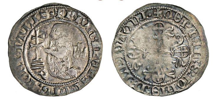 NumisBids: Numismatica Varesi s.a.s. Auction 67, Lot 489 : RODI JUAN FERNANDEZ DE HEREDIA (1376-1396) Gigliato. D/ Il Gran...