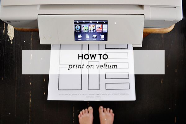 How to Print on Vellum • Caylee Grey
