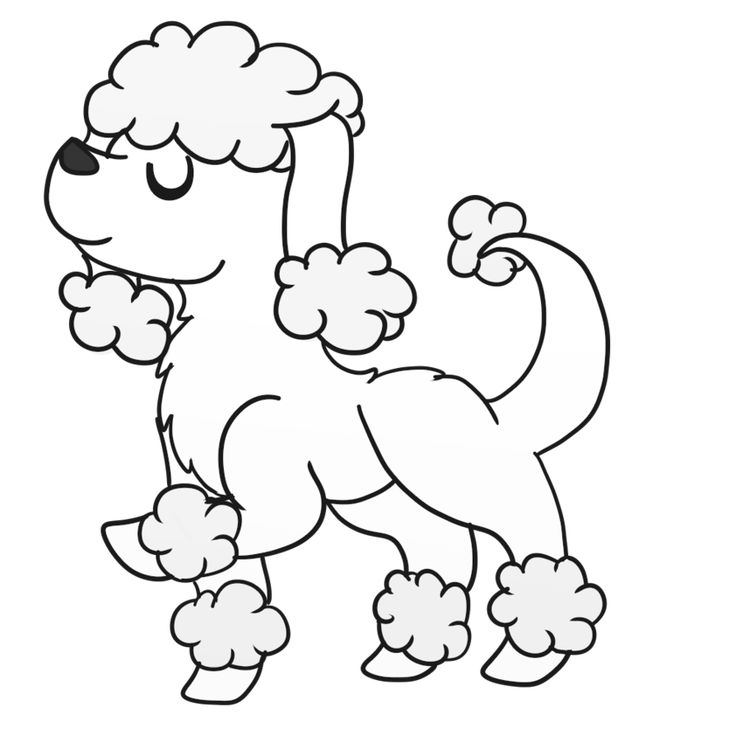28 best 2g book images on pinterest blurb book christmas poodle coloring pages sketch coloring page pronofoot35fo Images