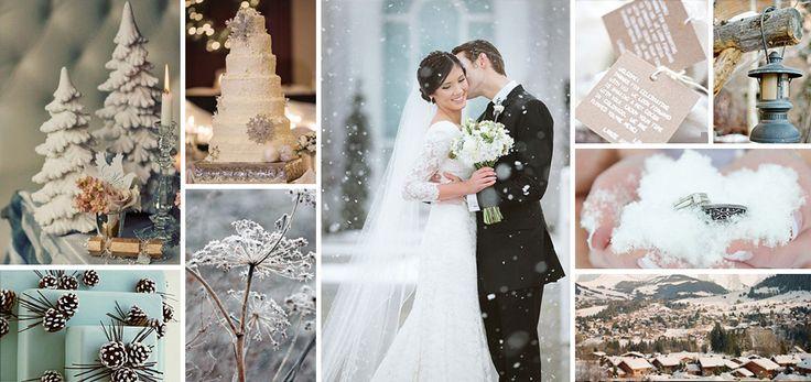Winter Weddings Ślub Zimą