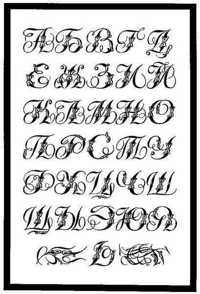 Sergey Chekhonin, decorative aplhabet, 1927. Сергей Чехонин. Образец № 133 из сборника «Декоративные шрифты и их построение»