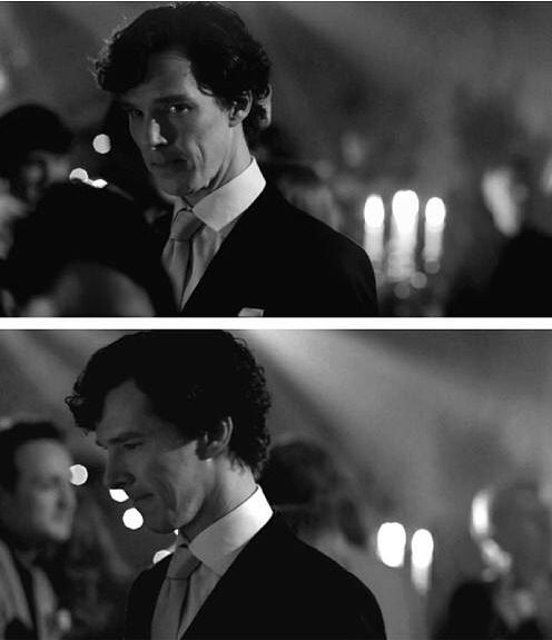 Sherlock at the end of The Sign of Three. When my heart completely broke.