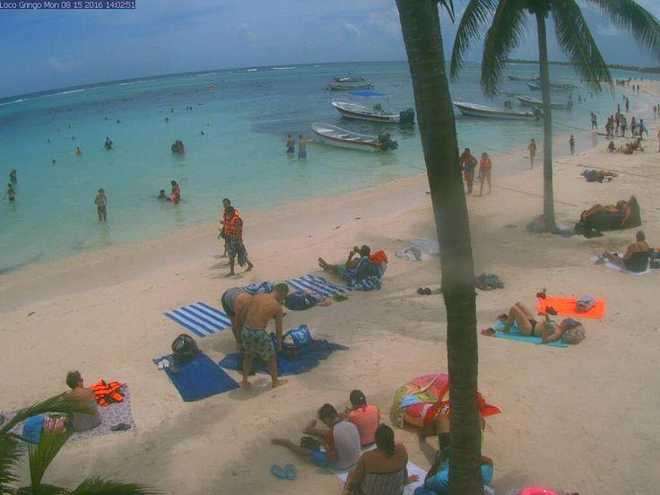 Webcam Cancún: Punta Cancun  Mexico Beach Camera