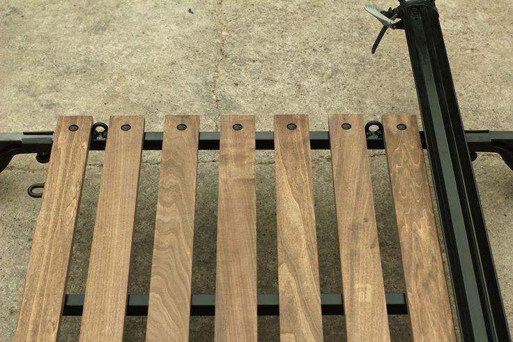 roof rack wooden racks storage caravan vw stuff camper wood diy log bed homemade pajero jeeps plans drake roads woodworking