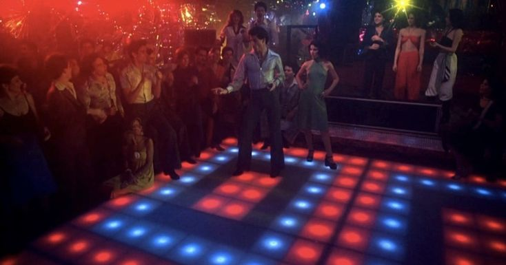 You could own the light-up dance floor from Saturday Night Fever