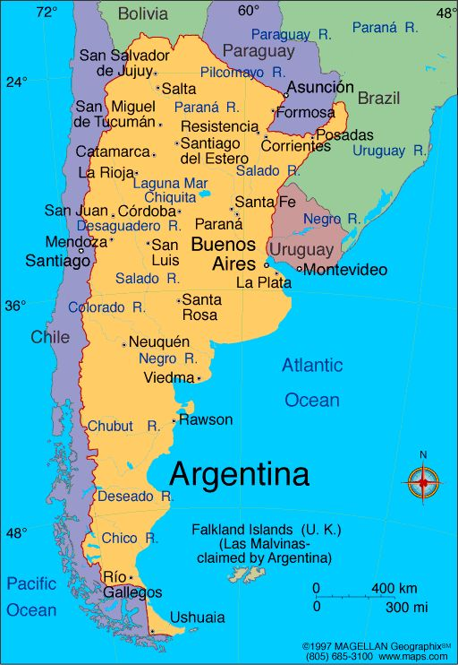 Hopefully some day I will be able to visit Argentina with my friend Jennifer.  I would love to experience the culture after I brush up on my spanish!