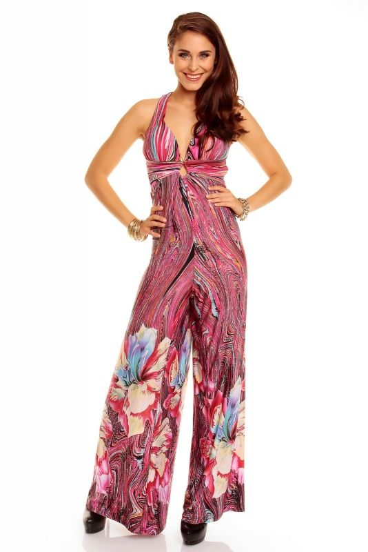 flower power look jumpsuit ibiza style mode pinterest flower flower power and jumpsuits. Black Bedroom Furniture Sets. Home Design Ideas