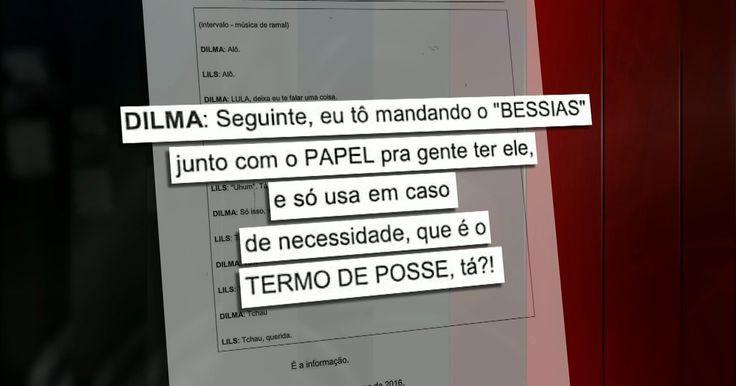 Moro derruba sigilo e divulga grampo de ligação entre Lula e Dilma