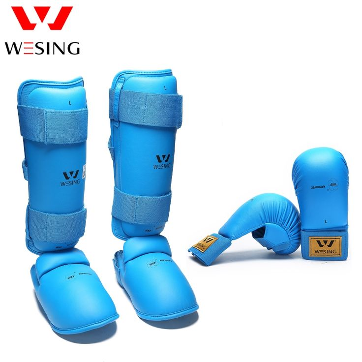 54.01$  Buy here - http://ali2c6.shopchina.info/go.php?t=32804100881 - wkf wesing karate equipment karate shin guard and karate mitts karate gloves  for competetion and training   #buyininternet