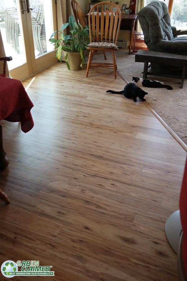 Natural Eucalyptus Hardwood Flooring By Cali Bamboo Wide Plank Sample Pet Friendly White Oak Floors