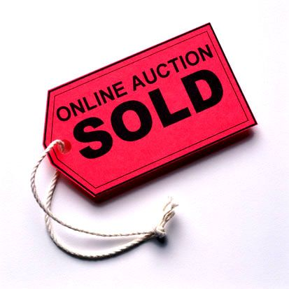 What are some online auction sites?