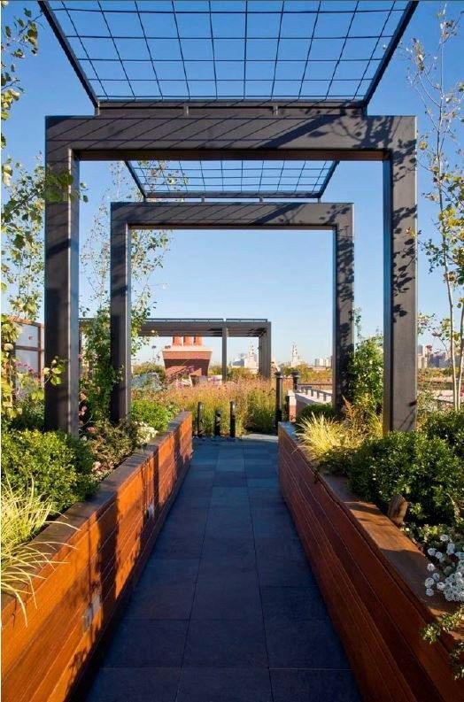 17 best ideas about modern pergola on pinterest veranda ideas pergolas and wisteria pergola - Pergola climbing plants under natures roof ...