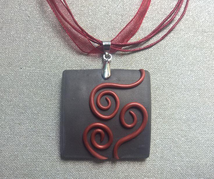 Handmade Polymer Clay necklace    http://www.vatera.hu/egyedi-kezzel-keszult-ekszerek-kezmuves-ekszer-csabitas-nyaklanc-fulbevalo-szett-2505078578.html