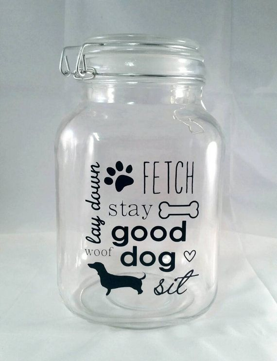 Dog Treat Container Ideas