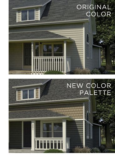 17 best images about plygem mastic vinyl siding on for Change exterior of house