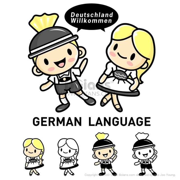 독일의 전통의상 레더호젠과 드린딜을 입은 남자와 여자. 독어독문학과 마스코트. 교육 캐릭터 디자인 시리즈. (BCDS010541)  Men and women dressed in traditional costumes of Germany Lederhosen and Dirndl. German language Mascot. Education Character Design Series. (BCDS010541)  Copyrightⓒ2000-2013 Boians.com designed by Cho Joo Young.