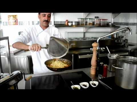 Homemade pappardelle pasta with award-winning Chef Hani Mohamed
