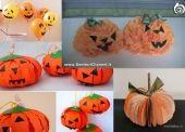 10 zucche di Halloween fai da te