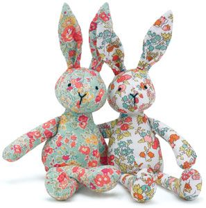 Shabby chic bunnies                                                                                                                                                                                 More