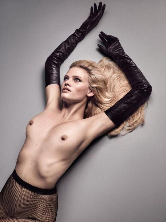 model Lara nude stone