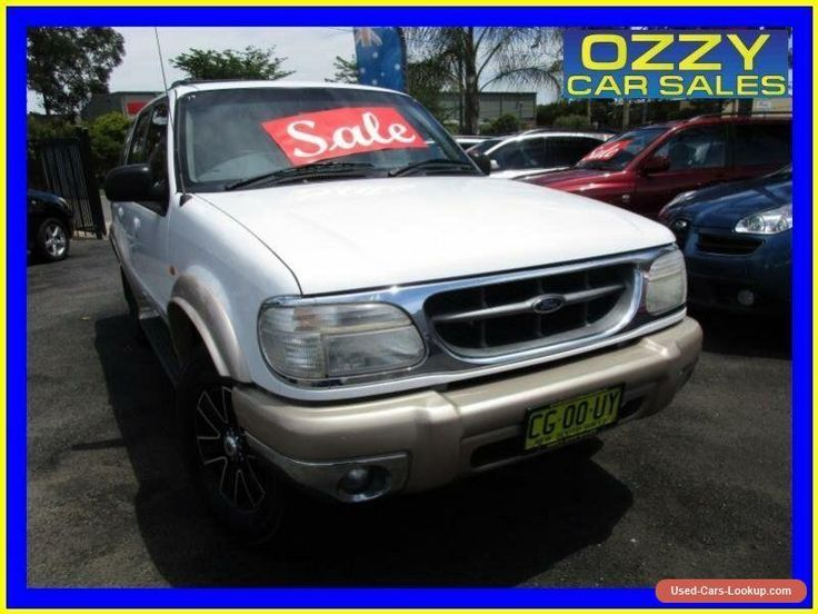 2000 Ford Explorer UQ XLT (4x4) White Automatic 5sp Automatic 4x4 Wagon #ford #explorer #forsale #australia