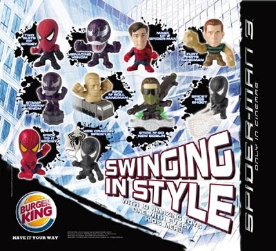 Visit http://www.abctoy4me.com/product_info.php/2006-burger-king-happy-meal-spiderman-figure-p-13063    2006 Burger King Happy Meal Spiderman 3 Figure