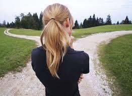 girl at crossroads stockphoto - Google zoeken