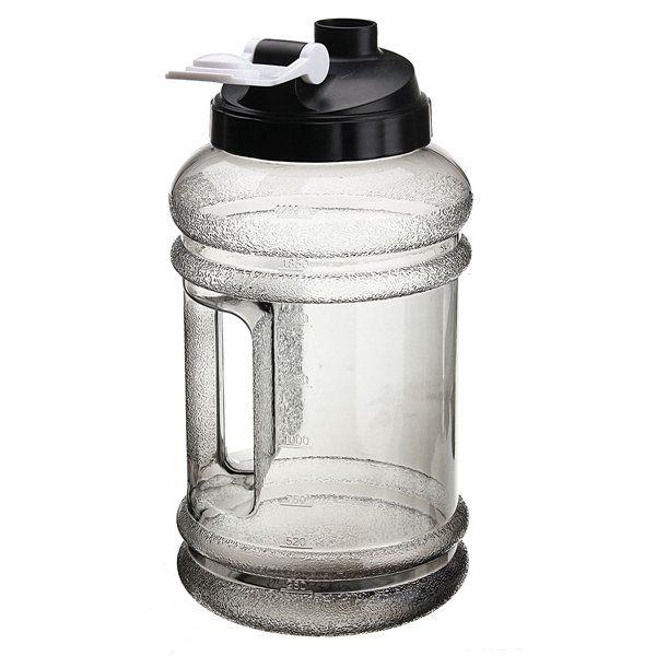 2.2L Big Mouth BPA Water Bottle Free Sport Gym Training Drink Water Bottle Cap Kettle Workout