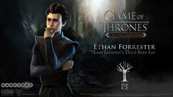 Lord Ethan Forrester. Lord Ethan was a true Lord. He stood up to Ramsey Snow and saved his sister Talia's life of the cost of his own. He served his house well and you will never be forgotten. Ethan the Brave. #IronFromIce