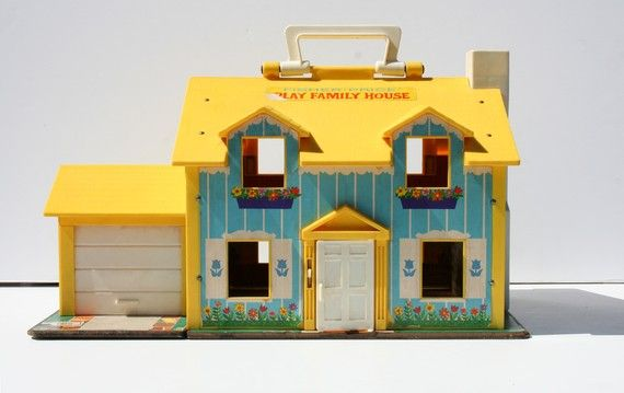 Fisher Price Doll House - I had this one!
