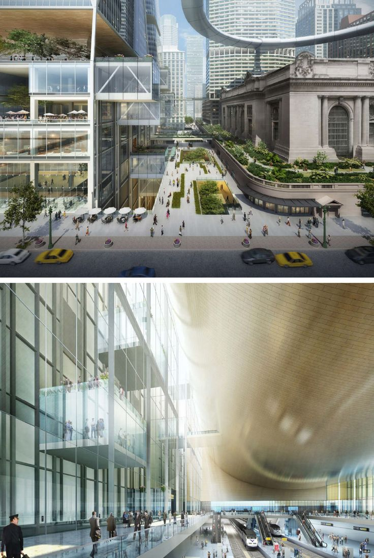 Grand Central Terminal Masterplan Skidmore, Owings and Merrill