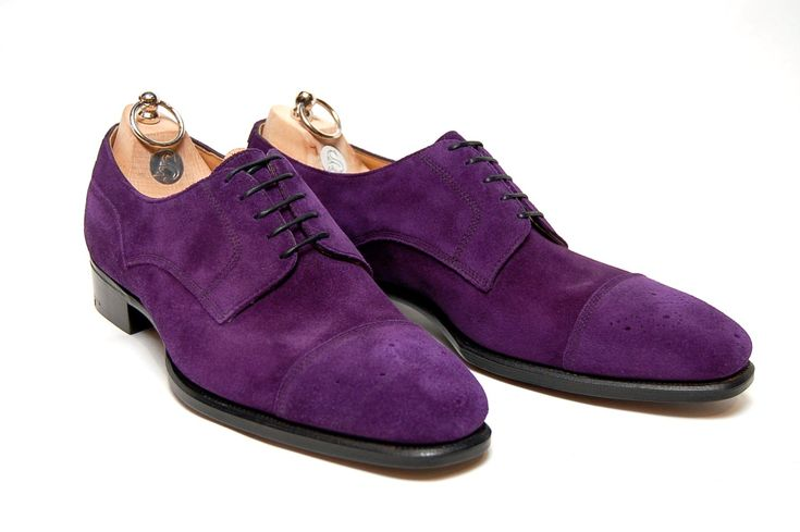Alfred Sargent  - Browning - Purple Suede MTO