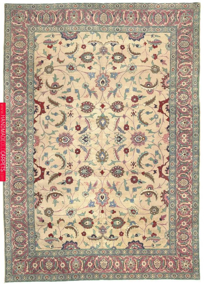Antique Tabriz Room Size Oriental Carpet Rugs Oriental Rug