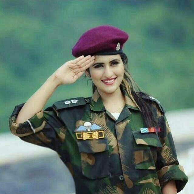 Salam Horriya Rani Army Girlfriend Pictures Military Women Army Women