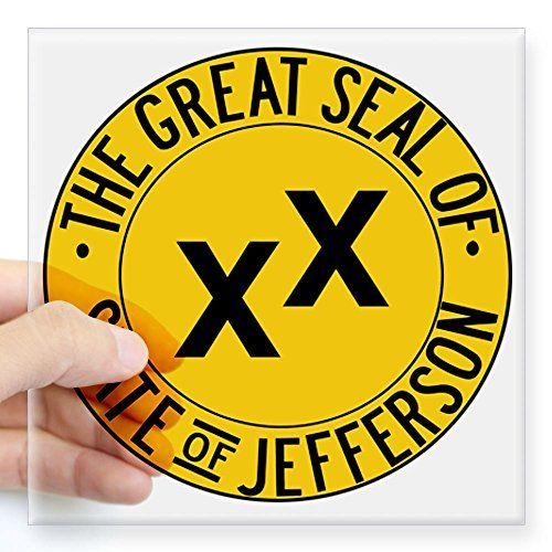 CafePress State of Jefferson Seal Square Sticker 3 x 3 - Standard Clear CafePress http://www.amazon.com/dp/B00MRMIWNG/ref=cm_sw_r_pi_dp_3X35vb0QC0Q13