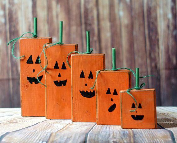 wood pumpkins painted pumpkins halloween crafts rustic halloween decorations valspar primitives pallets distressed painting vines