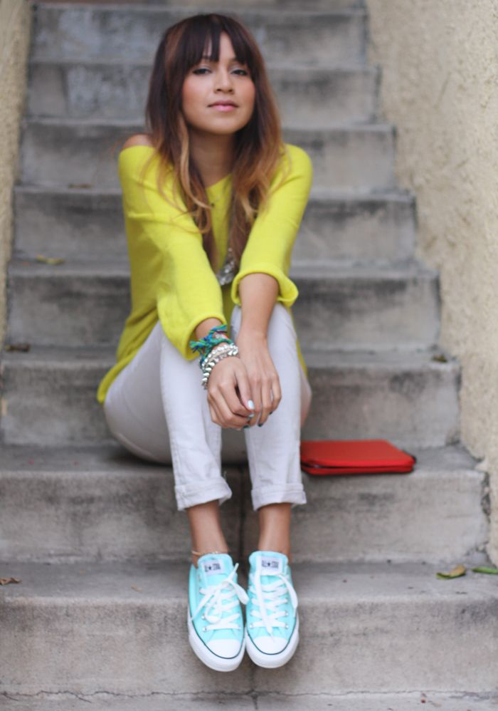.: Baby Blue, Hair Colors, Fashion Shoes, Summer Style, Tiffany Blue, Colors Combinations, Blue Conver, Girls Fashion, Bright Colors
