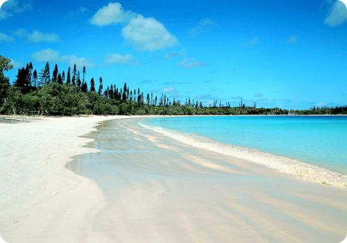 Isle of Pines, New Caledonia, loved it on our cruise at the end of year 12 for schoolies, so much fun.