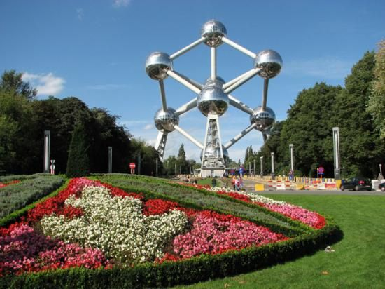 The Atomium, Brussels, its big but there's not much to see inside.