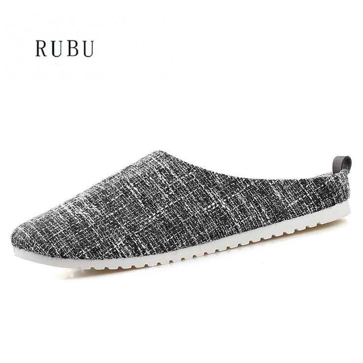 >> Click to Buy << 2017 Mens Indoor Slippers Summer Cool Genuine Luxury Comfortable House Men Soft Stripe Slippers Flat Home Shoes Size 39-44 #Affiliate