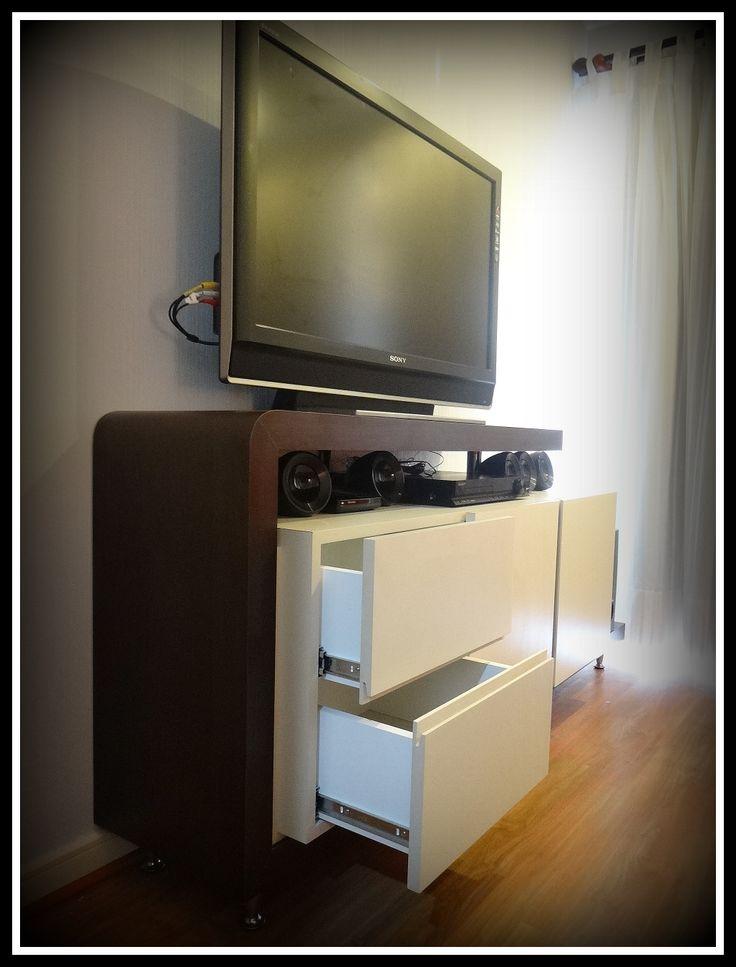 8 best mueble bife tv y zapatero images on pinterest - Muebles para guardar zapatos ...
