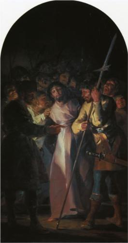 El Prendimiento de Cristo - Francisco de Goya: