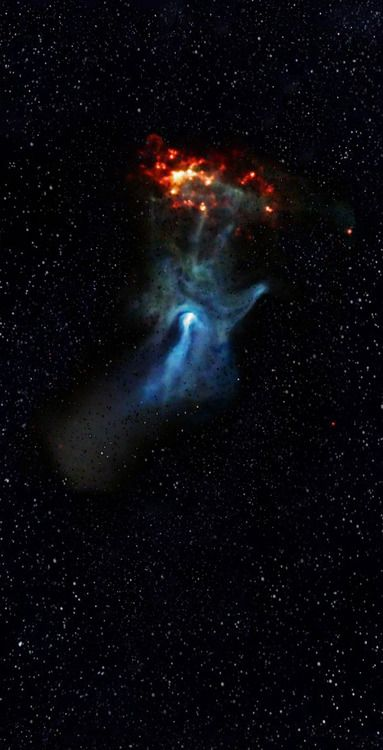The 'Hand of God' Nebula