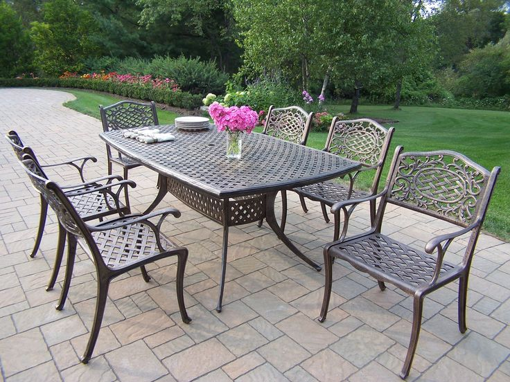 Oxford Mississippi 7 Piece Dining Set